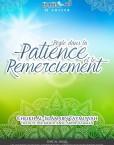 regle dans la patience et le remerciement