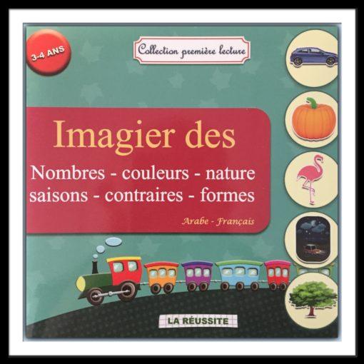 imagier nombres couleurs saisons