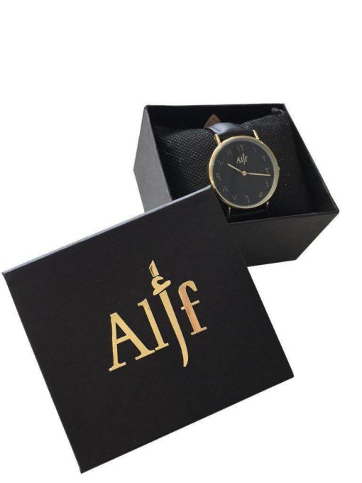 alif watch montre urdu indien