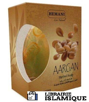 savon huile argan hemani