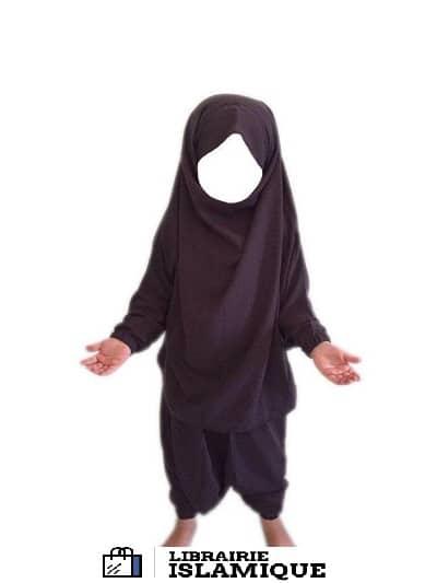 jilbab-fillette-gris-fonce