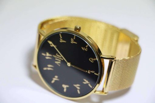 alif-watch-montre-chiffres-urdu-indiens gold