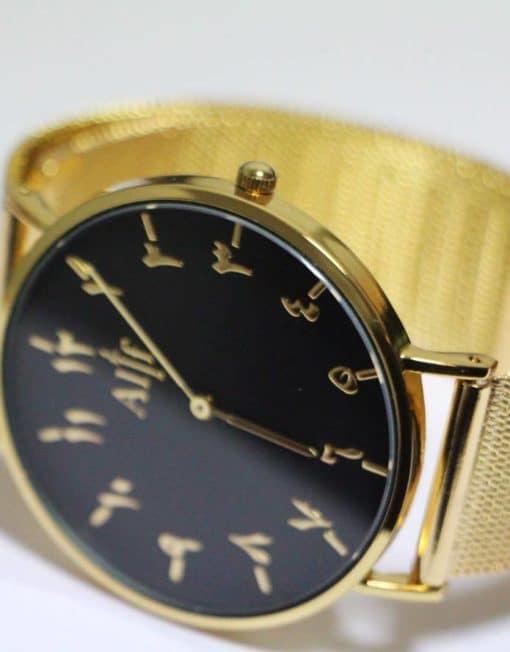 alif-watch-montre-chiffres-urdu-indiens gold