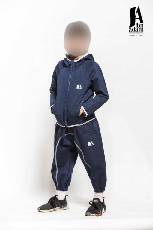 ensemble-jogging-enfant-bleu-ibn-adam-face