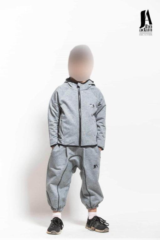 ensemble-jogging-enfant-gris-ibn-adam-face