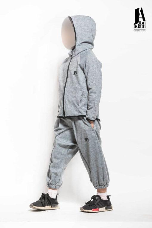 ensemble-jogging-enfant-gris-ibn-adam-profil