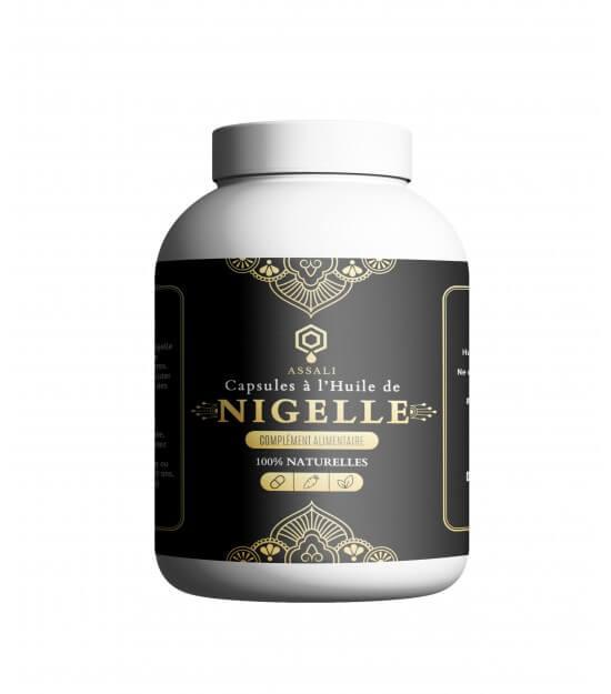 Gélule à l'huile de Nigelle Assali