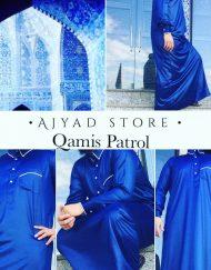 Qamis Patrol Bleu