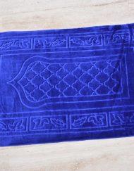 Tapis de prière bleu Foncé